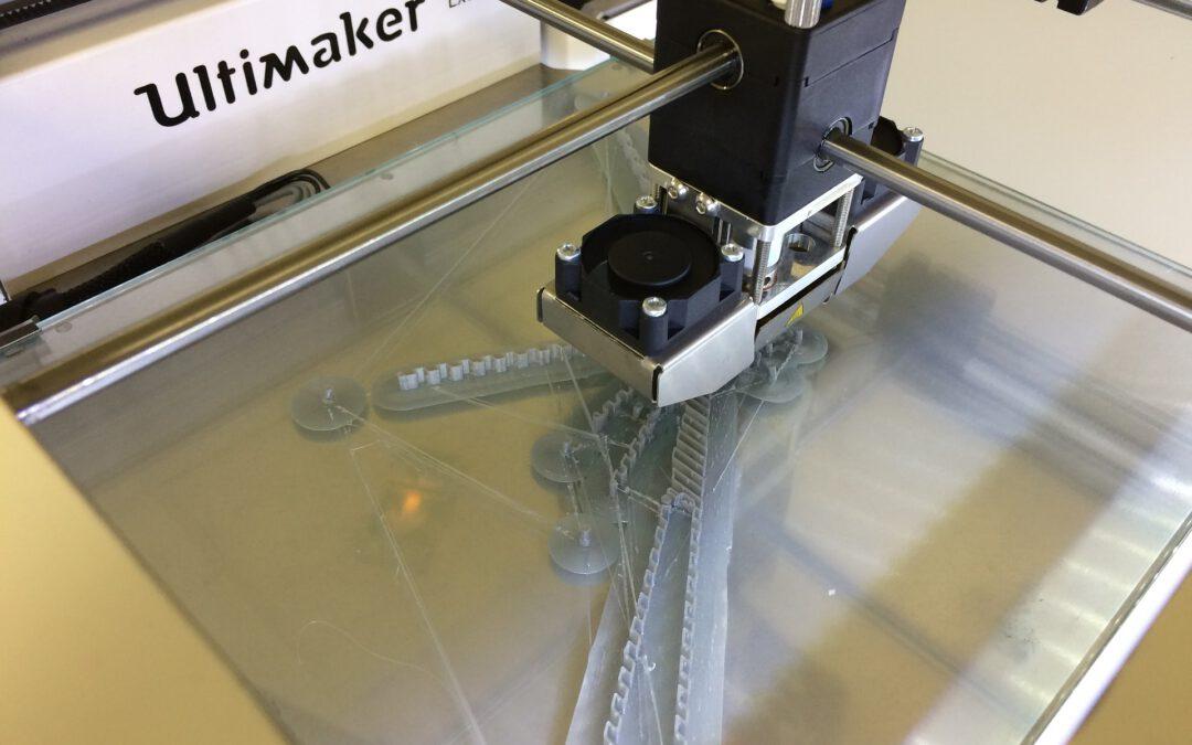 Werken met PLA filament